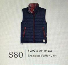 Stitch Fix for Men September 2016 - Flag & Anthem, Brookline Puffer Vest