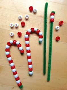 A maths/pattern making christmas activity!DIY Kids' Ornaments