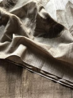 Printed soft raw silk saree Raw Silk Saree, Silk Sarees, Online Shopping Sarees, Trendy Sarees, Printed, Natural, Prints, Nature, Au Natural