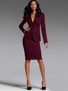 tailleur jupe working girl pinterest skirt suit blazer et skirts. Black Bedroom Furniture Sets. Home Design Ideas
