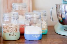 Storage Hack: Organize Your Ingredients in Paint-Dipped Jars