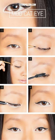 Mod Cat Eye | PinTutorials