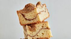 For a bite of pure bliss, sink your teeth into this hybrid of coffee cake and a snickerdoodle cookie. Layers of rich batter, crumbly streusel, and a topping of crunchy cinnamon sugar add up to irresistible; cream of tartar lends a subtle tang and a nice chew. Better yet, the ingredients are pantry basics, so you can bake up a batch on demand.