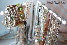 Rangements créatifs et originales de colliers