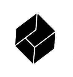 Neugestaltung des Monash University Student Theatre (MUST) -Logos. MUSS basiert in per . Portfolio Design, Creative Portfolio, Cube Design, Box Design, Black Box, Printer Logo, Ikea Logo, Unique Tattoos For Men, Square Logo