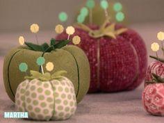 Video: Tomato Pincushion | Martha Stewart