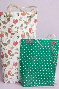 Bolsas para regalos DIY