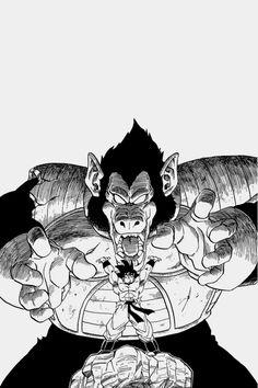 Vegeta Ōzaru & Goku - Dragon Ball