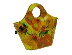 Vincent Van Gogh Sunflowers Top Handle Handbag