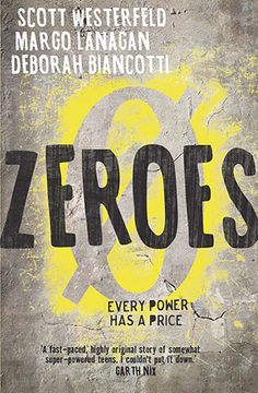 Zeroes opens with Scam, aka Ethan, who's in trouble. His superpower, a selfish and short-sighted voice with supernatural knowledge, goes rogue. Ethan never