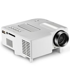 Mini Portable HD LED Projector Home Cinema Theater PC Laptop VGA USB SD AV HDMI #Unbranded