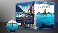 Águas Rasas (Blu-Ray) - Capa | VITRINE - Galeria De Capas - Designer Covers Custom | Capas & Labels Customizados
