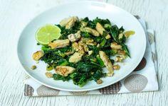 Herkullinen ateria valmistuu nopeasti muutamasta raaka-aineesta. Tarjoa sellaisenaan tai riisin kanssa.