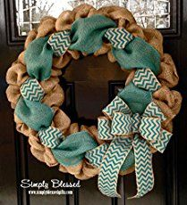 Learn how to make a burlap wreath by weaving ribbons with rustic burlap in this easy step-by-step tutorial. You'll have a pretty wreath in just a few hours!
