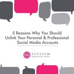 #socialmedia #socialmediamarketing #contentmarketing #personalvsprofessional