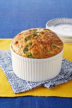 Spinach and Gruyere Souffle recipe