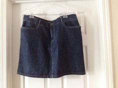 Tommy Hilfiger Plus Denim Skirt