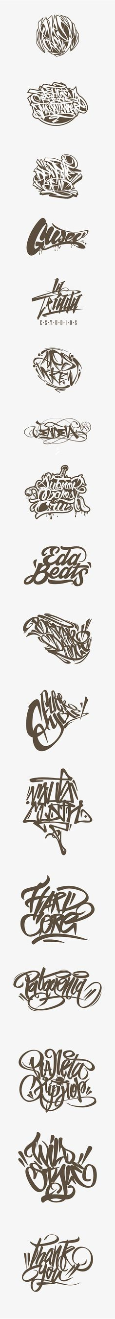 Calligraffiti - Lettering on Behance