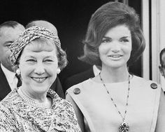 Both extremely popular First Ladies in their era, Mamie Eisenhower symbolized what most American were like and Jackie Kennedy what they wished to be like,