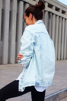 bd6bf48cf46 oversize denim jacket Oversized Denim Jacket Outfit