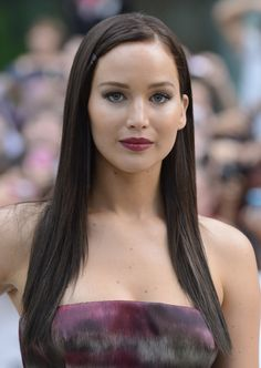 Jennifer Lawrence as a brunette Jennifer Lawrence Brunette, Jennifer Lawrence Photos, Jenifer Lawrance, Happiness Therapy, Logan Lerman, Provocateur, Amanda Seyfried, Look At You, Hollywood Actresses