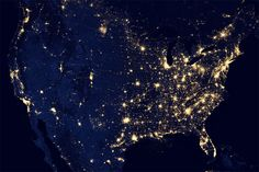 City Lights United States of America, a 20x200 Space Edition