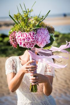 Classic Wedding Bouquet with Hydrangea