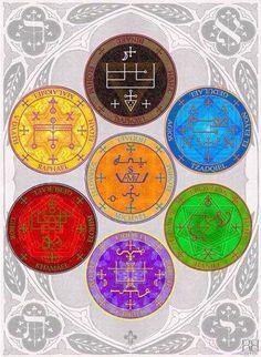 Los sellos místicos angélicos son algunos de los sellos recogidos por el sabio rey Salomón. Estos símbolos utilizados correctamente y tal y como se te indica, son tremendamente poderosos, por lo que te ayudarán en lo que necesites, acudiendo a ti los diversos seres de luz.