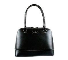 Kate Spade New York Wellesley Rachelle Shoulder Handbag Black Leather WKRU1431