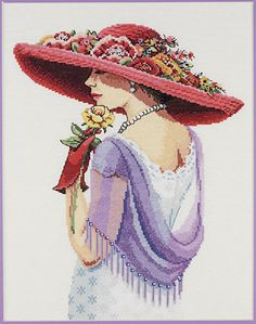Sophisticated Lady - Counted Cross-stitch