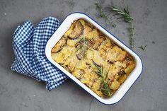 Vegan Potatoe Gratin //