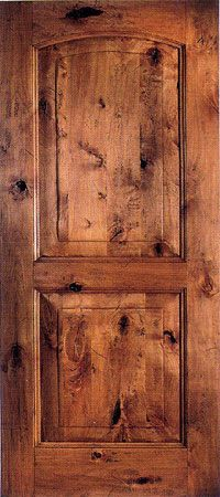 French Doors Rustic Knotty Alder Oak Mahogany Interior