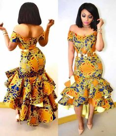 Ankara styles are the most beautiful pieces of clothing. Ankara Styles is one of the hottest African fashion you need to wear. We have many Women's African Fashion Style Outfits for you Perfe… African Print Dresses, African Print Fashion, Africa Fashion, African Fashion Dresses, African Dress, Fashion Prints, Fashion Design, African Prints, Nigerian Fashion