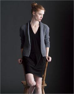 Selvedge Cardigan - Interweave bulky yarn