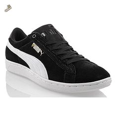 Puma - Vikky - 35671402 - Color: Black - Size: 9.5 - Puma sneakers for women (*Amazon Partner-Link)