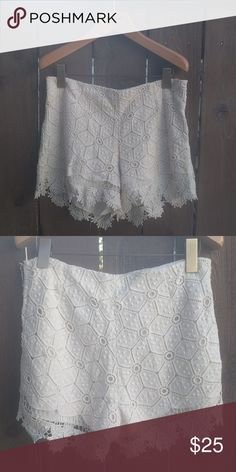 Anthropologie Shorts Lace shorts by Dolce Vita for Anthropologie. Only work a handful of times, still in great condition with zero flaws. Anthropologie Shorts