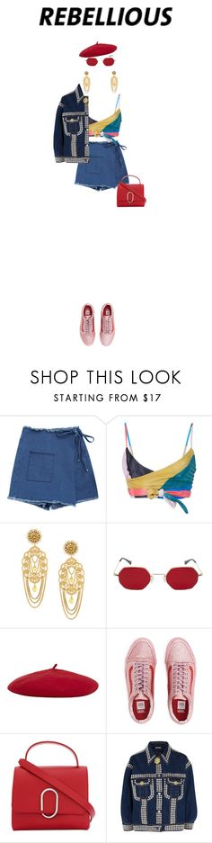 """""""instagram rebel"""" by thegrey1 ❤ liked on Polyvore featuring Mara Hoffman, Dolce&Gabbana, Reiss, 3.1 Phillip Lim and Miu Miu"""