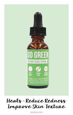 Go Green Facial Serum : Mojo Spa