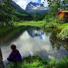 From the beautiful valley Innerdalen today.  #innerdalen