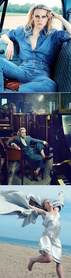 Kate Mckinnon Photographed by Annie Leibovitz for Vanity Fair [November 2017]