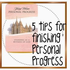 The Power of One Girl: 5 Tips for Finishing Personal Progress