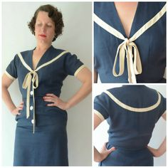 Sailor Wiggle Dress