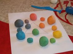 Cornstarch Clay and Color Wheel Lesson | | Blissfully DomesticBlissfully Domestic