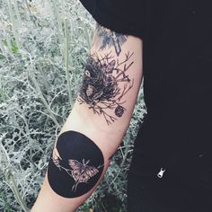 lovin this nature theme tattoo