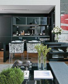 Cozinha integrada com a sala  by casacombr, via Flickr