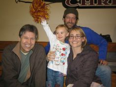 Troy Kostur, Deanne Bray, and their daughter Kyra | Sue ...