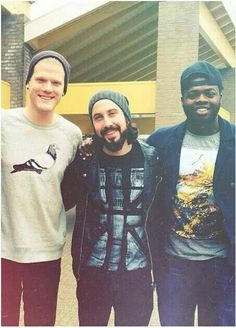 Scott Hoying, Avi Kaplan and Kevin Olusola