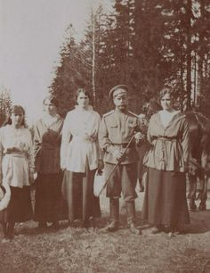 NEW : Anastasia, Olga, Tatiana, Nicholas II, and Maria Nikolaevna
