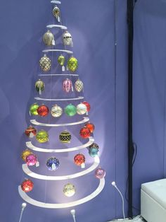 The Modern Christmas Tree was a big hit at NY Now​ show this weekend!  We displayed so well that Thomas Glenn Holidays​ sold out of many of their ornaments!