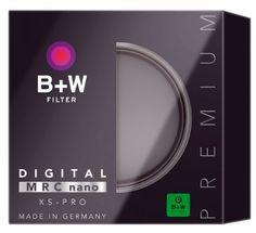 B+W Schutzfilter XS-Pro Digital 007 Clear-Filter MRC nano-Mit MRC-Vergütung und zusätzlicher Nano-Beschichtung. Schmale Weitwinkelfassung XS-PRO
